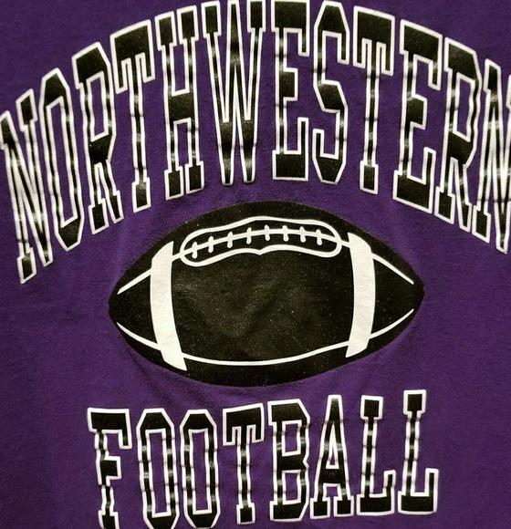 the best attitude 1982c e8bbf Vintage Northwestern University Football Shirt